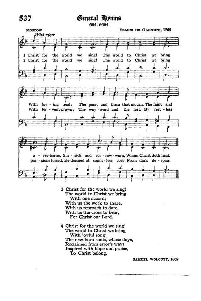 The Hymnal of the Protestant Episcopal Church in the United States of America 1940 page 615