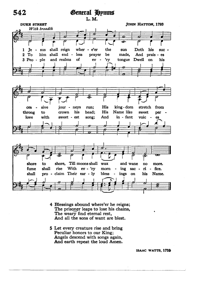 The Hymnal of the Protestant Episcopal Church in the United