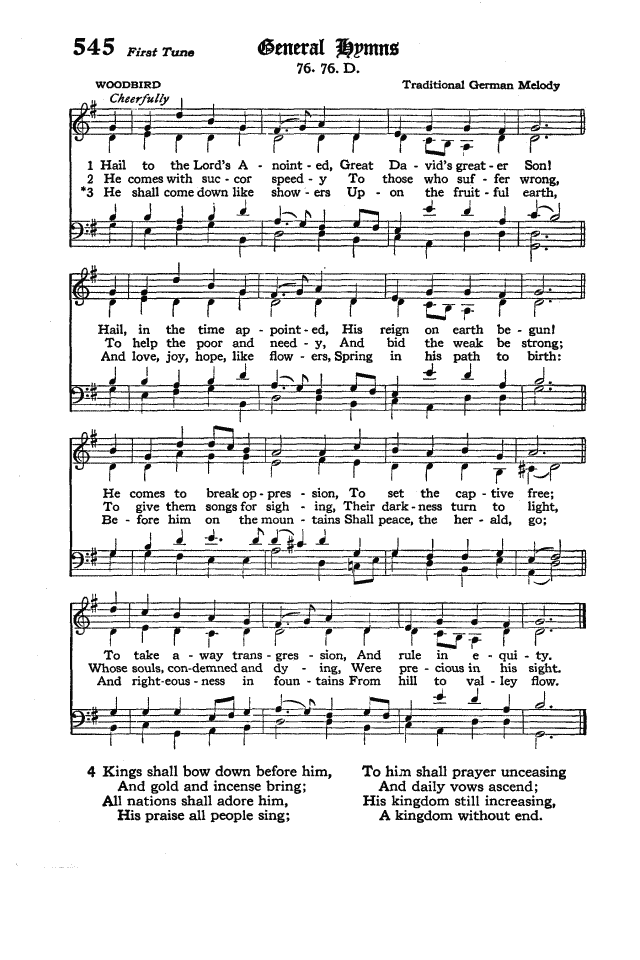 The Hymnal of the Protestant Episcopal Church in the United States of America 1940 page 624
