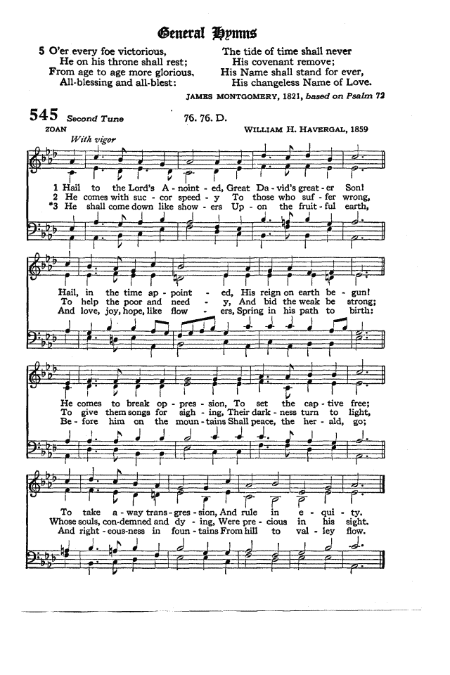 The Hymnal of the Protestant Episcopal Church in the United States of America 1940 page 625