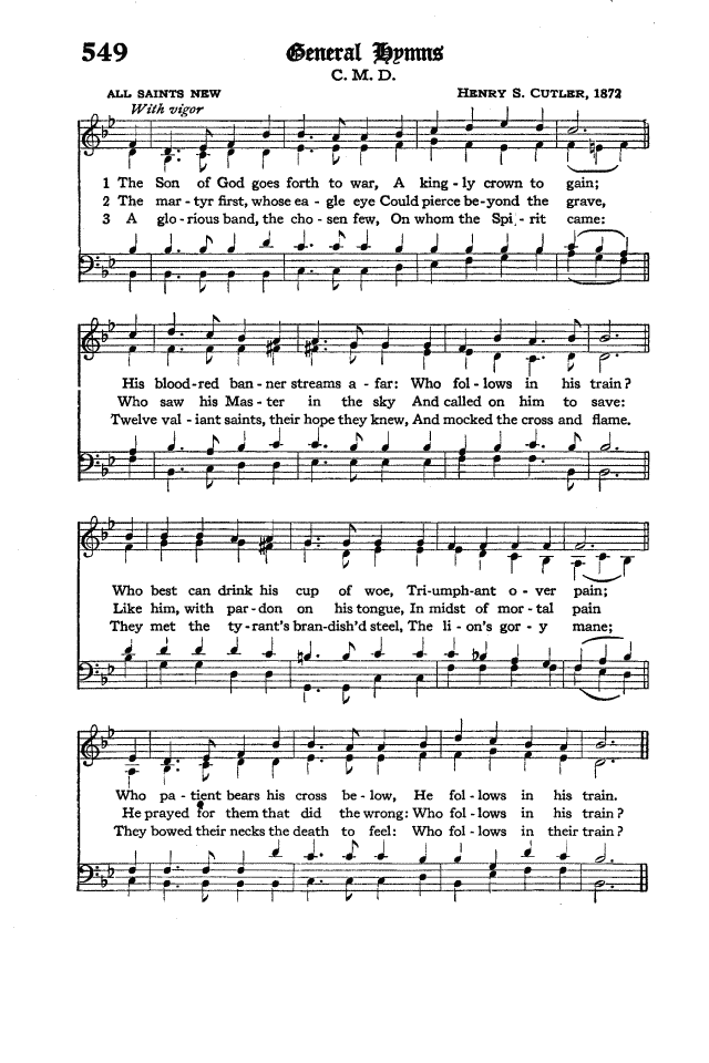The Hymnal of the Protestant Episcopal Church in the United States of America 1940 page 630