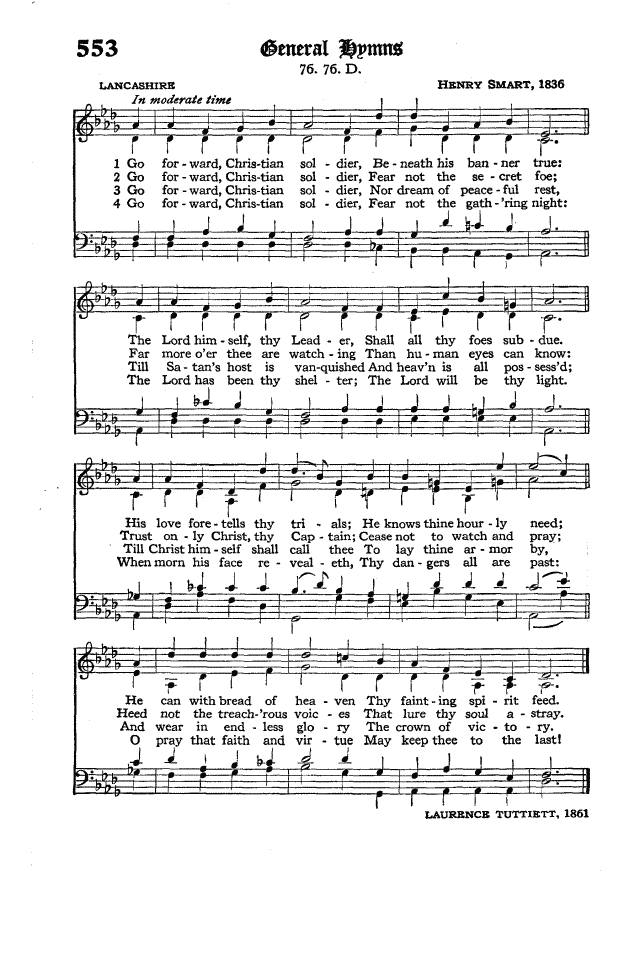 The Hymnal of the Protestant Episcopal Church in the United States of America 1940 page 634
