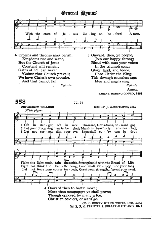 The Hymnal of the Protestant Episcopal Church in the United States of America 1940 page 639