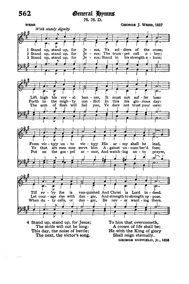 The Hymnal of the Protestant Episcopal Church in the United States of America 1940 page 644