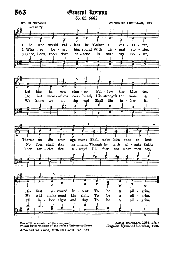 The Hymnal of the Protestant Episcopal Church in the United States of America 1940 page 645