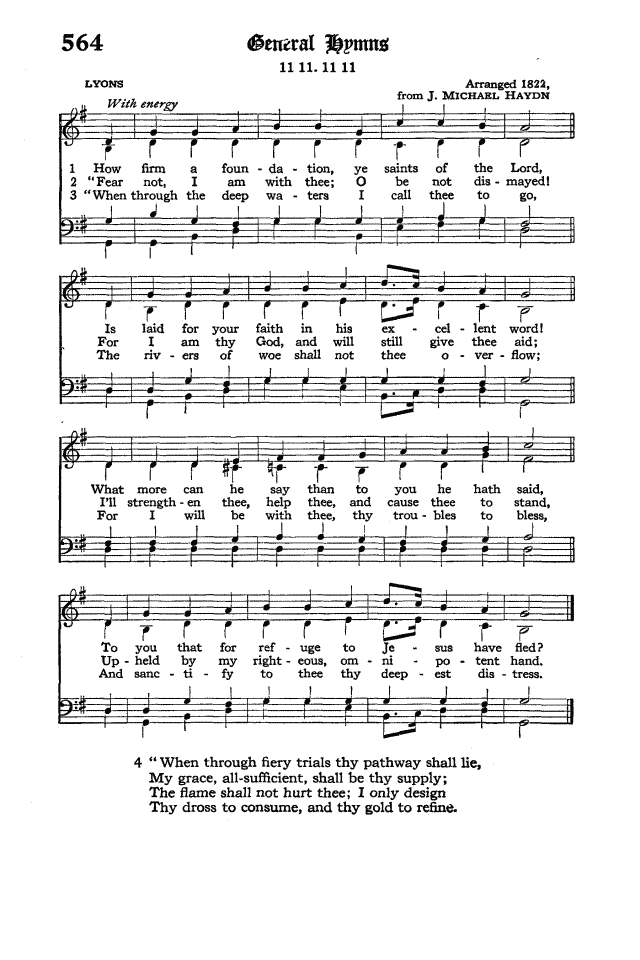 The Hymnal of the Protestant Episcopal Church in the United States of America 1940 page 646