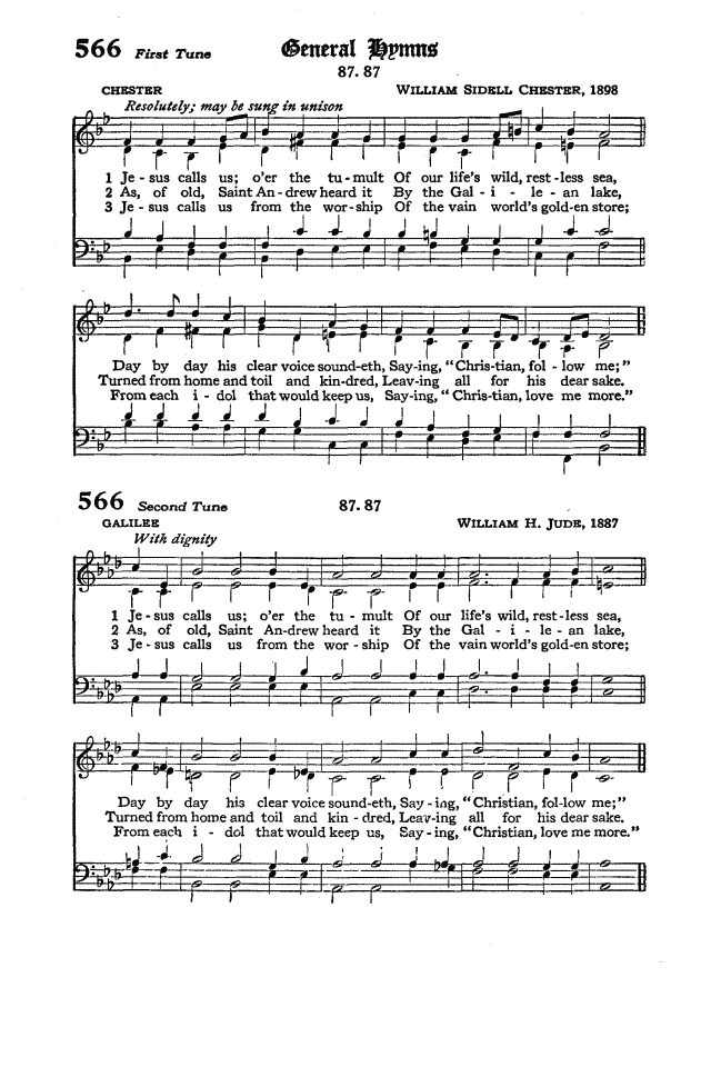 The Hymnal of the Protestant Episcopal Church in the United States of America 1940 page 648