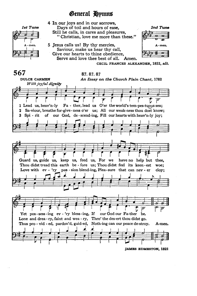 The Hymnal of the Protestant Episcopal Church in the United States of America 1940 page 649