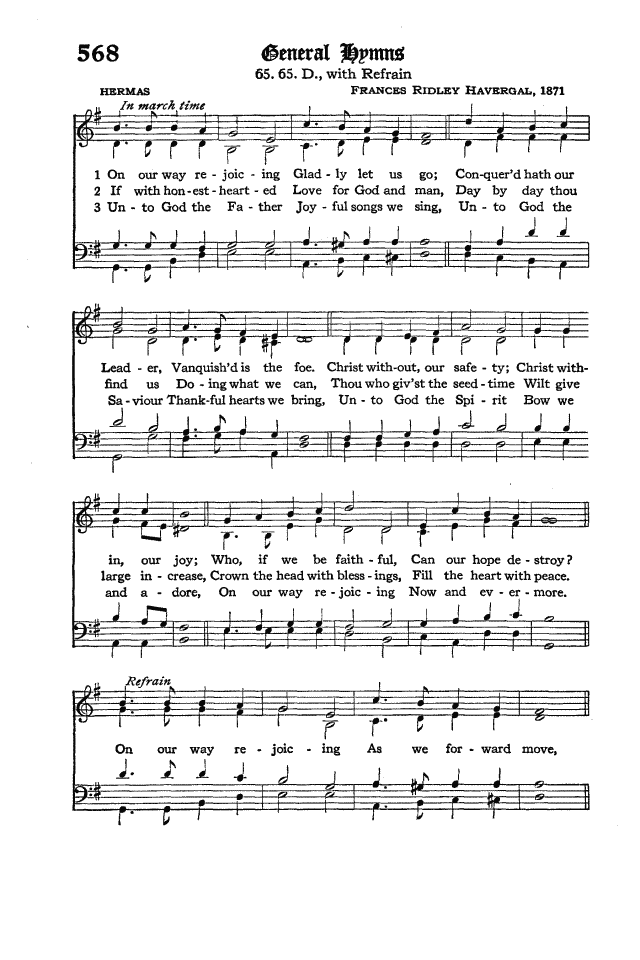 The Hymnal of the Protestant Episcopal Church in the United States of America 1940 page 650