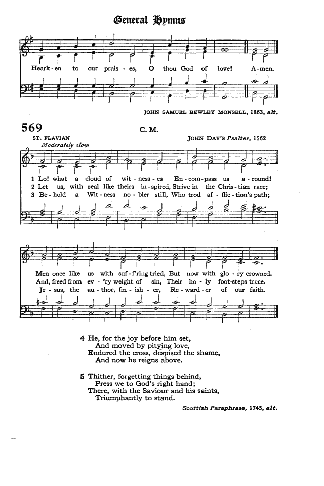 The Hymnal of the Protestant Episcopal Church in the United States of America 1940 page 651