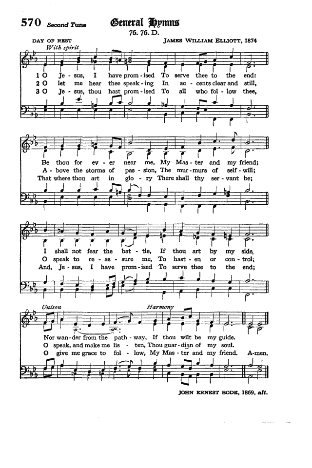The Hymnal of the Protestant Episcopal Church in the United States of America 1940 page 653