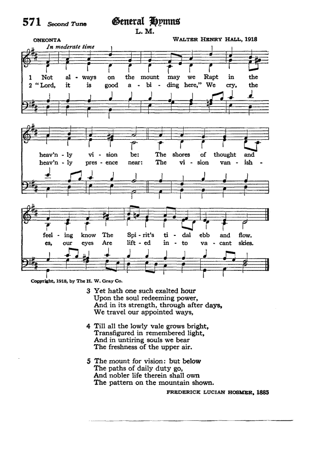 The Hymnal of the Protestant Episcopal Church in the United States of America 1940 page 655
