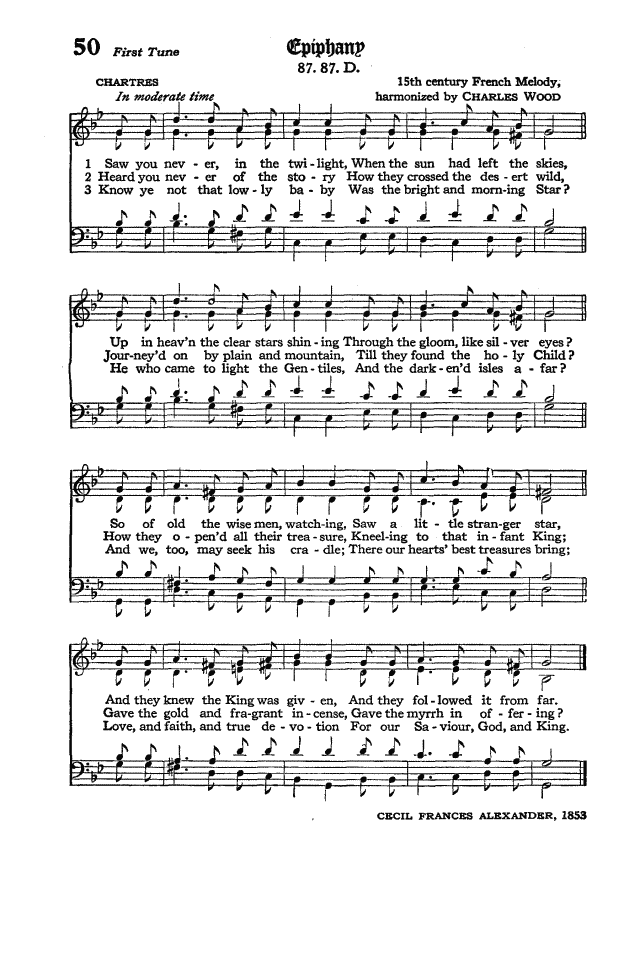 The Hymnal of the Protestant Episcopal Church in the United States of America 1940 page 66