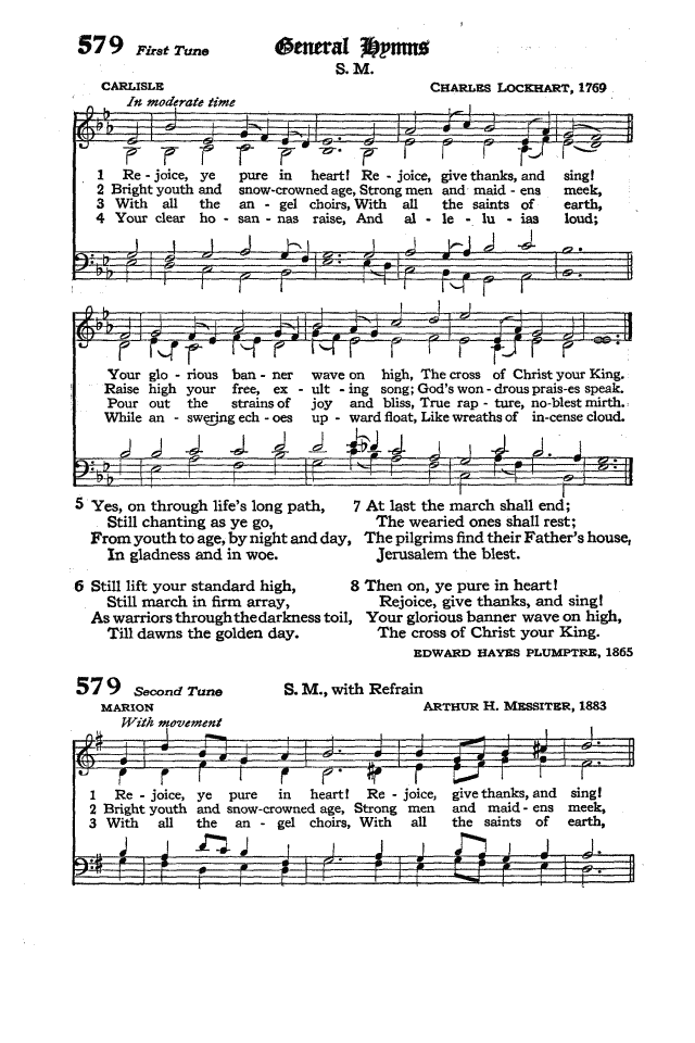 The Hymnal of the Protestant Episcopal Church in the United States of America 1940 page 664