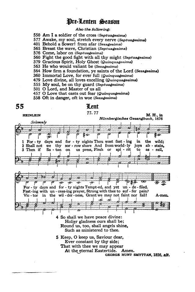 The Hymnal of the Protestant Episcopal Church in the United States of America 1940 page 73