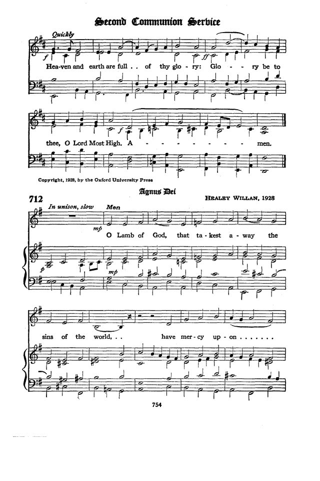 The Hymnal of the Protestant Episcopal Church in the United States ...