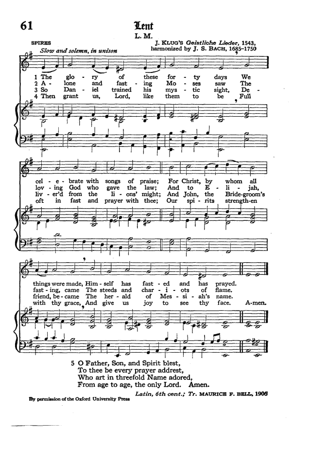 The Hymnal of the Protestant Episcopal Church in the United States of America 1940 page 79