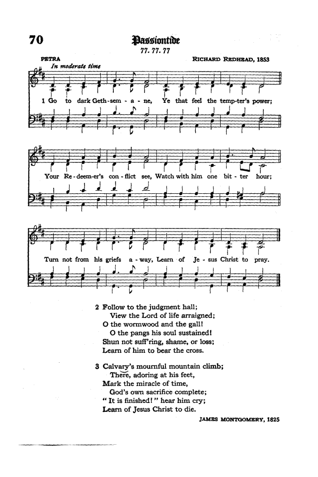 The Hymnal of the Protestant Episcopal Church in the United States of America 1940 page 91