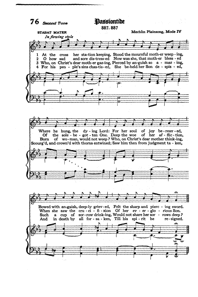 The Hymnal of the Protestant Episcopal Church in the United States of America 1940 page 98