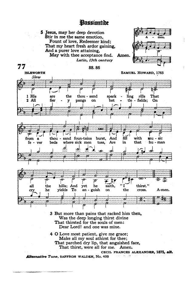 The Hymnal of the Protestant Episcopal Church in the United States of America 1940 page 99