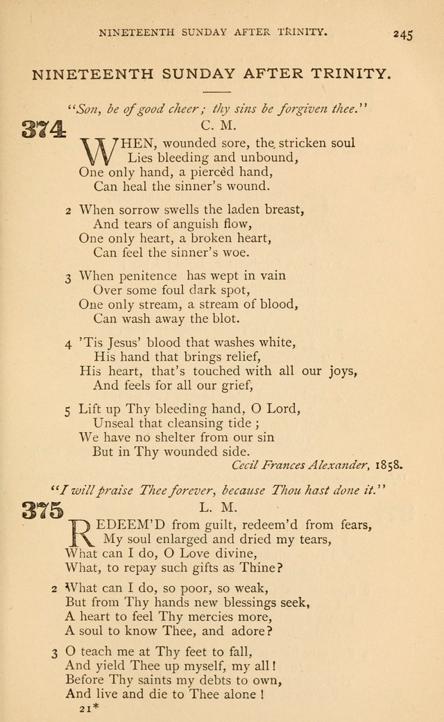 Hymns for the Reformed Church in the United States page 252
