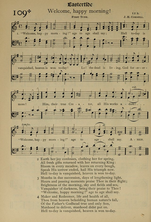The Hymnal, Revised and Enlarged, as adopted by the General Convention of the Protestant Episcopal Church in the United States of America in the year of our Lord 1892 page 141