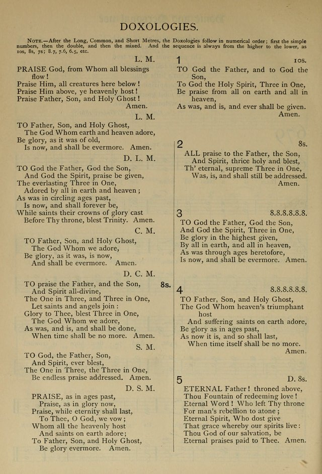 The Hymnal, Revised and Enlarged, as adopted by the General Convention of the Protestant Episcopal Church in the United States of America in the year of our Lord 1892 page 791
