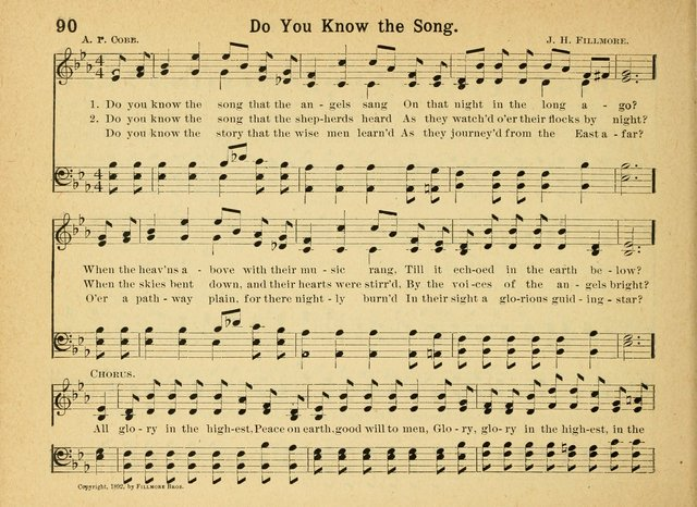 Heart Songs For Sunday Schools 90 Do You Know The Song That The