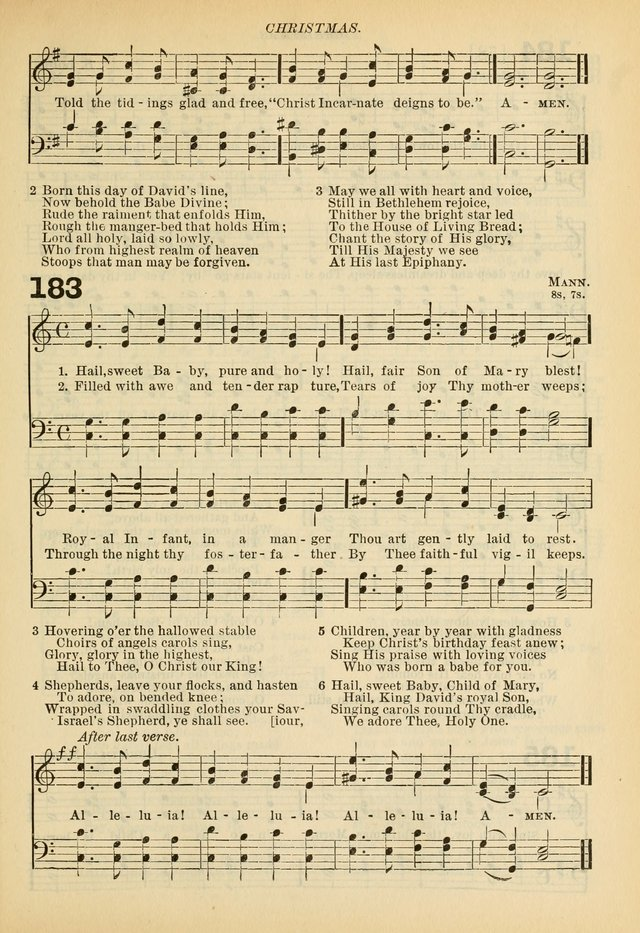 A Hymnal and Service Book for Sunday Schools, Day Schools, Guilds, Brotherhoods, etc. page 126