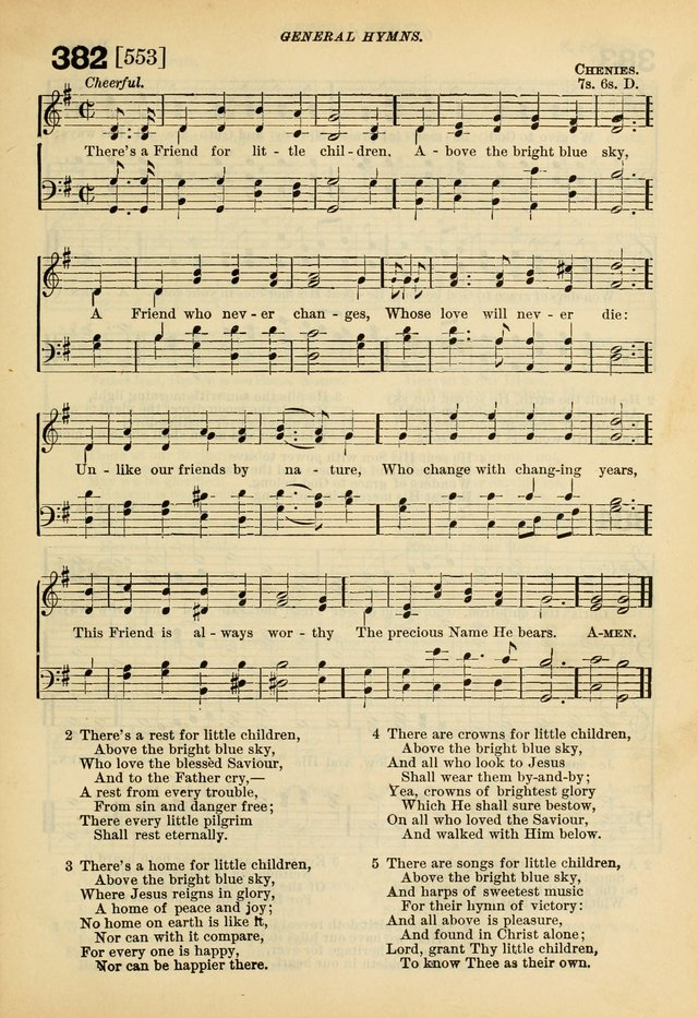 A Hymnal and Service Book for Sunday Schools, Day Schools, Guilds, Brotherhoods, etc. page 272