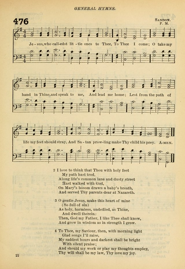 A Hymnal and Service Book for Sunday Schools, Day Schools, Guilds, Brotherhoods, etc. page 342