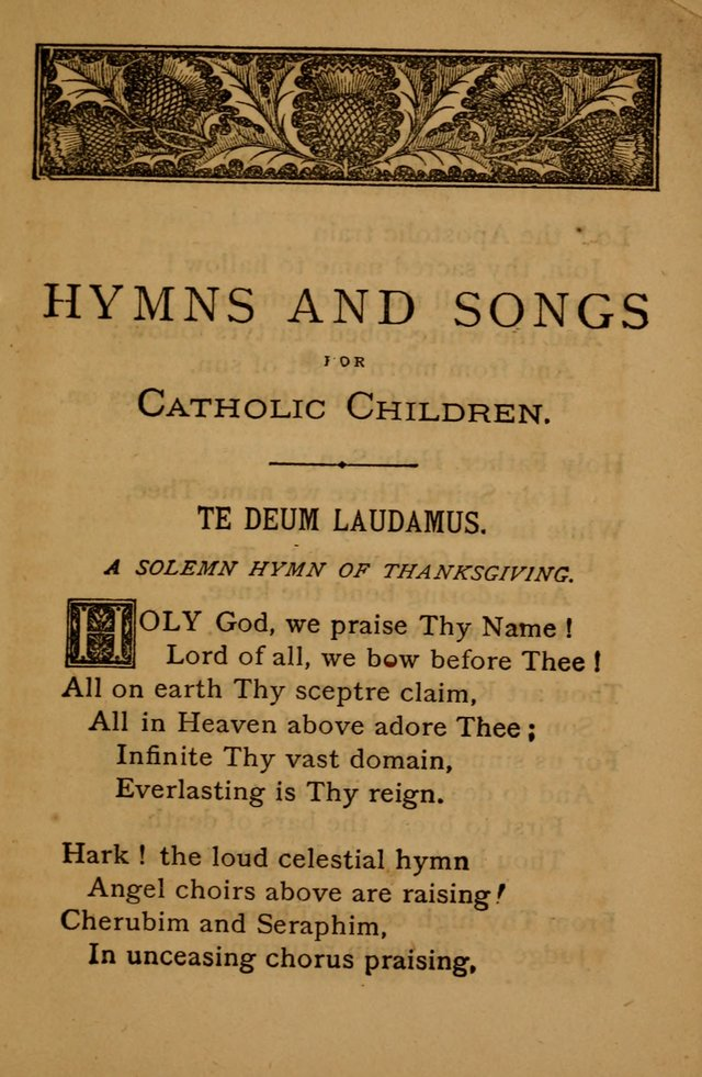 HOLY GOD, WE PRAISE THY NAME Lyrics- Catholic Gospel Hymn ...