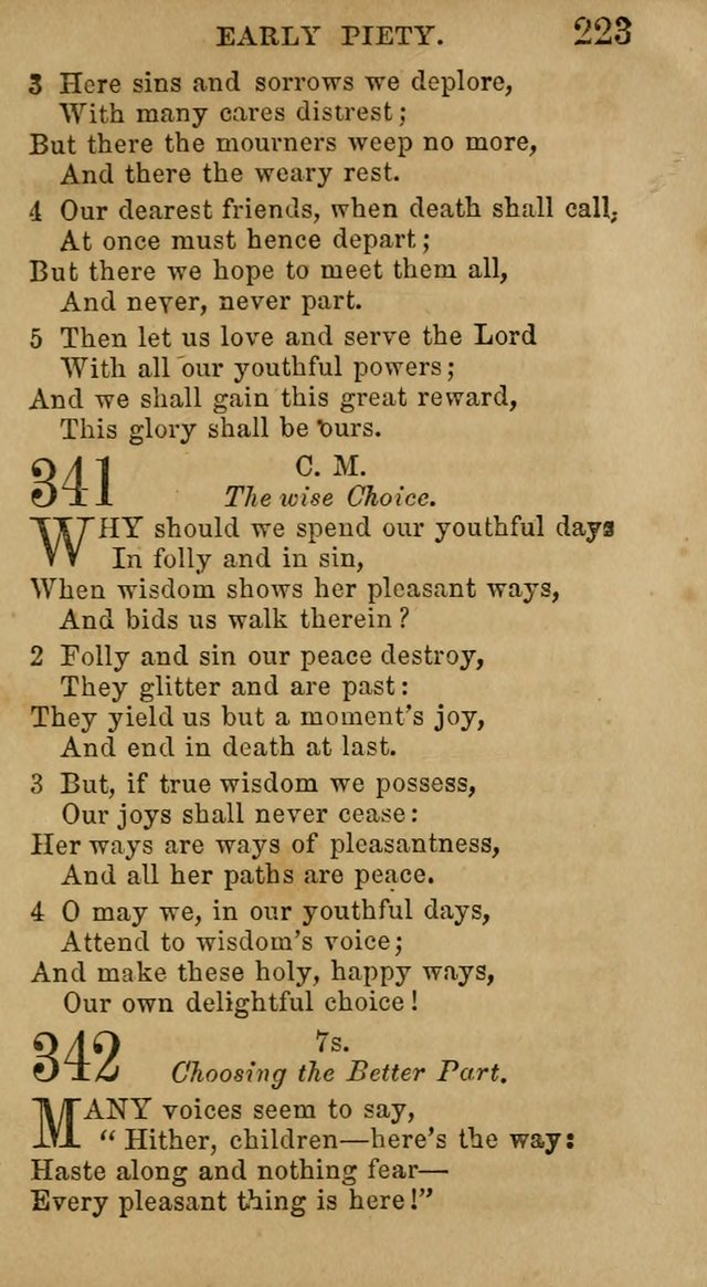 Hymns for Schools and Families, Specailly Designed for the Children of the Church page 230