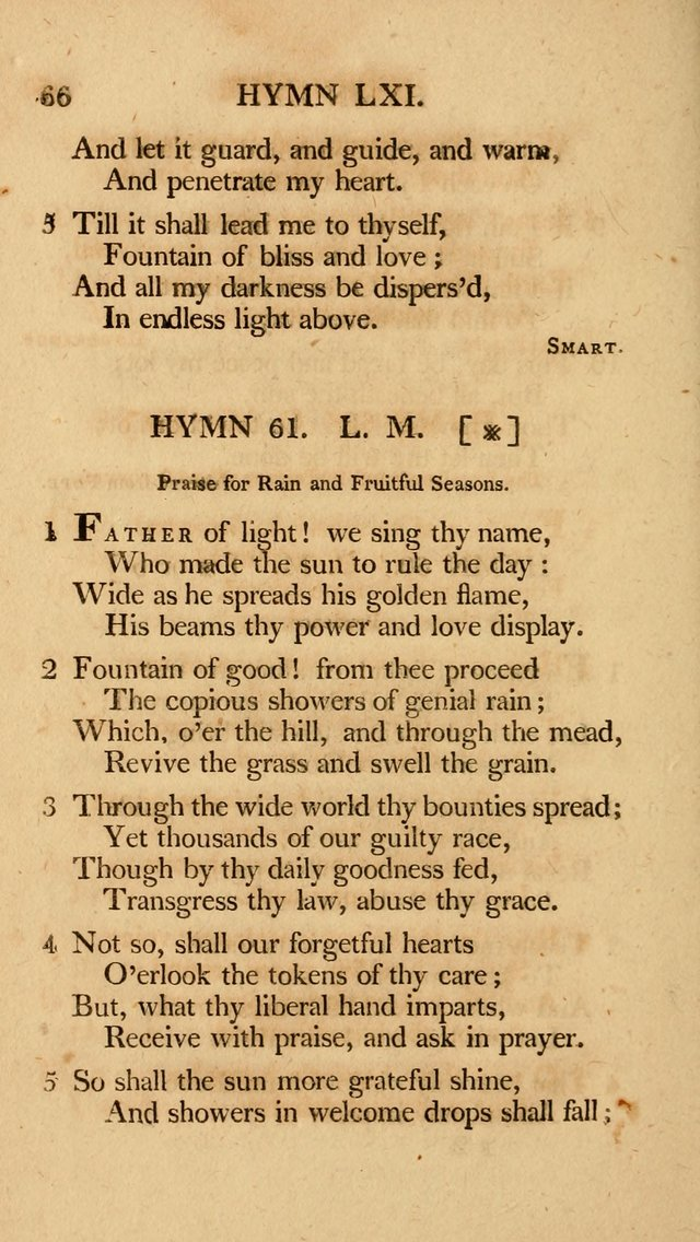 Hymns, Selected from the Most Approved Authors, for the use of Trinity Church, Boston page 67