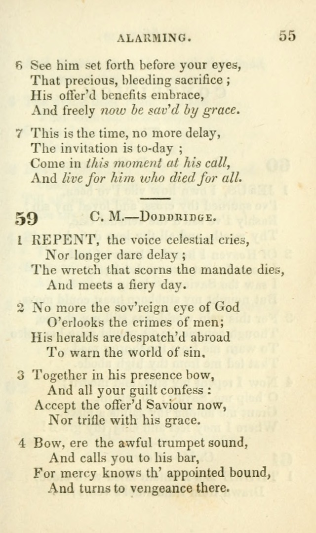 Hymns for Social Meetings page 55