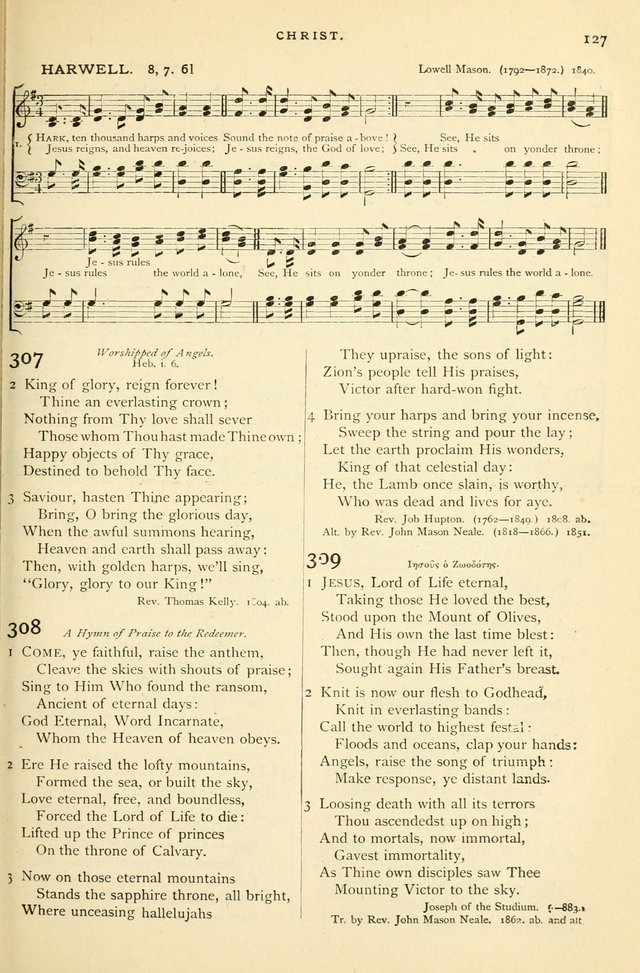 Hymns and Songs of Praise for Public and Social Worship page 129