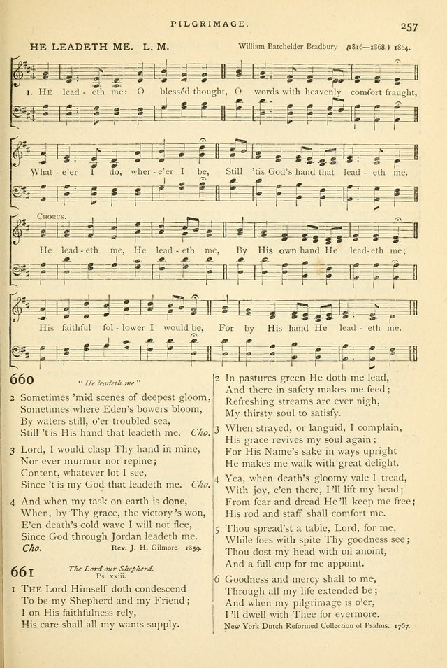 Hymns and Songs of Praise for Public and Social Worship page 261