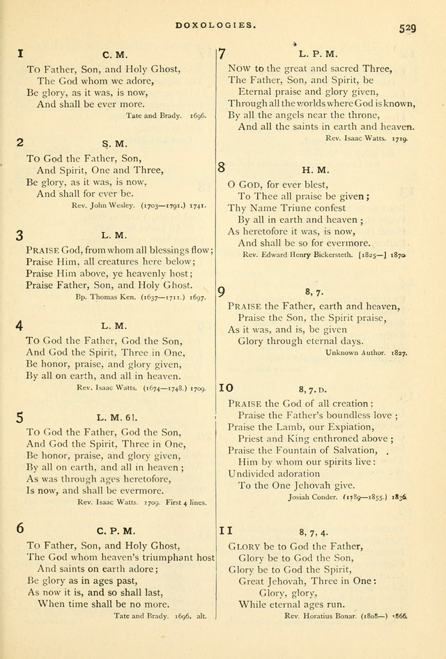 Hymns and Songs of Praise for Public and Social Worship page 543