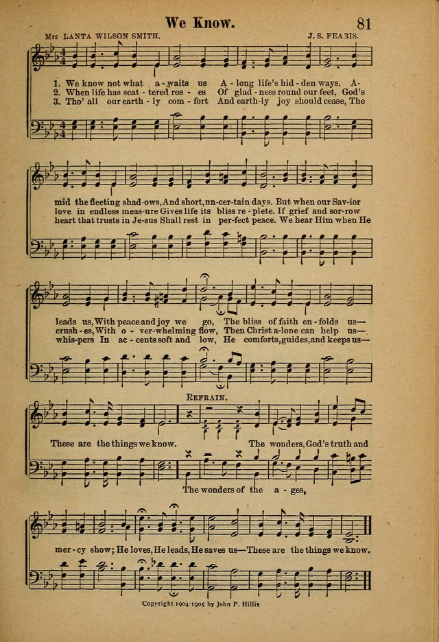 Hymns and Spiritual Songs page 81