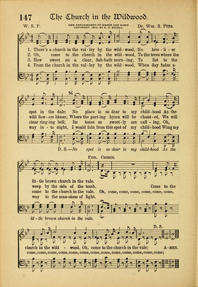 Hymns And Sacred Songs 147 There S A Church In The Valley