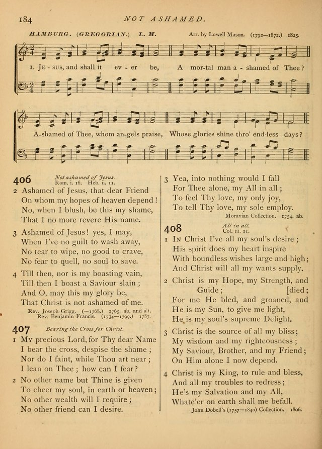 Hymns and Songs for Social and Sabbath Worship page 189