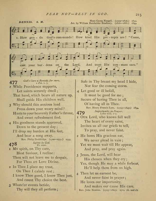 Hymns and Songs for Social and Sabbath Worship. (Rev. ed.)                 page 215