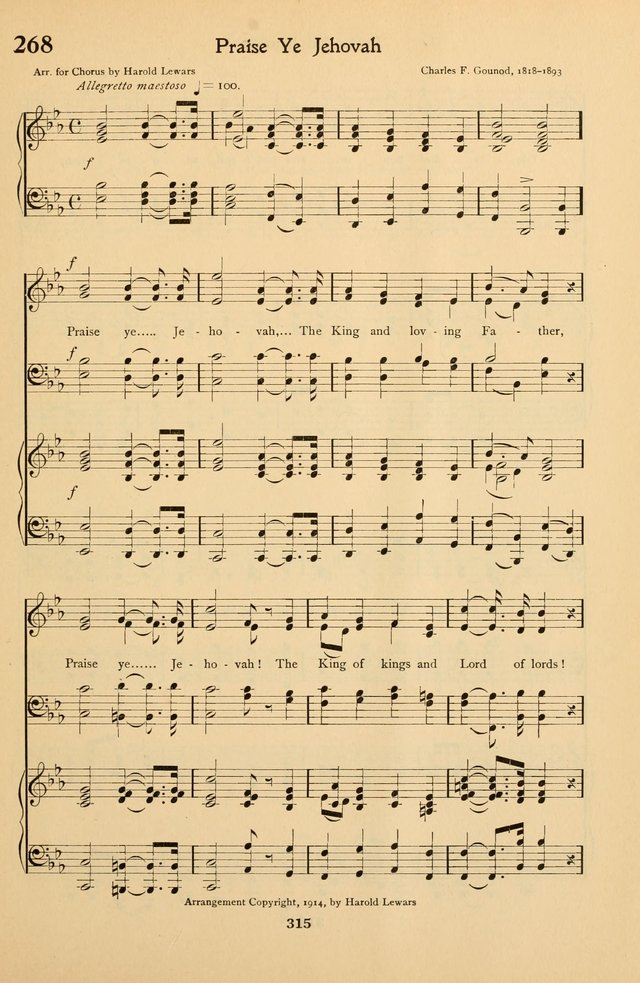 Hymns and Songs for the Sunday School page 327