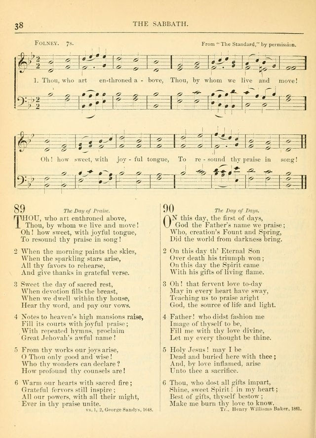 Hymns for the Sanctuary and Social Worship: with tunes page 40