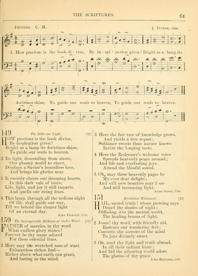 Hymns for the Sanctuary and Social Worship: with tunes page 63