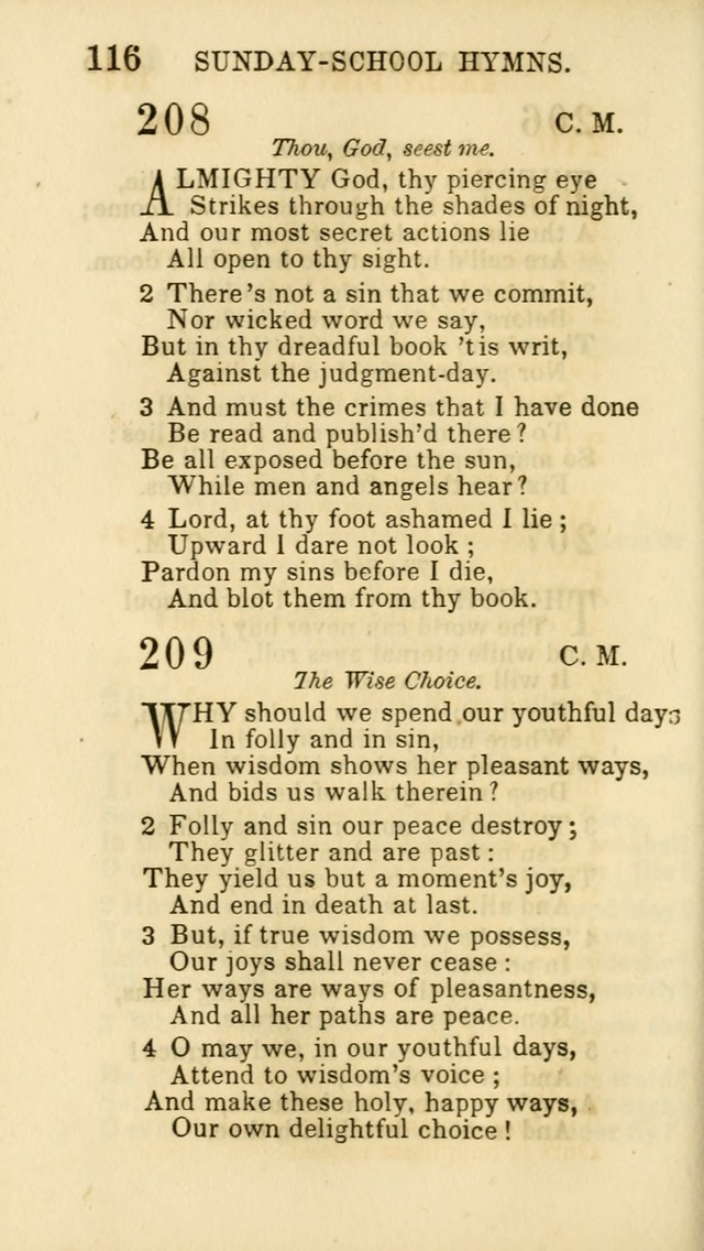 Hymns for Sunday Schools, Youth and Children page 118