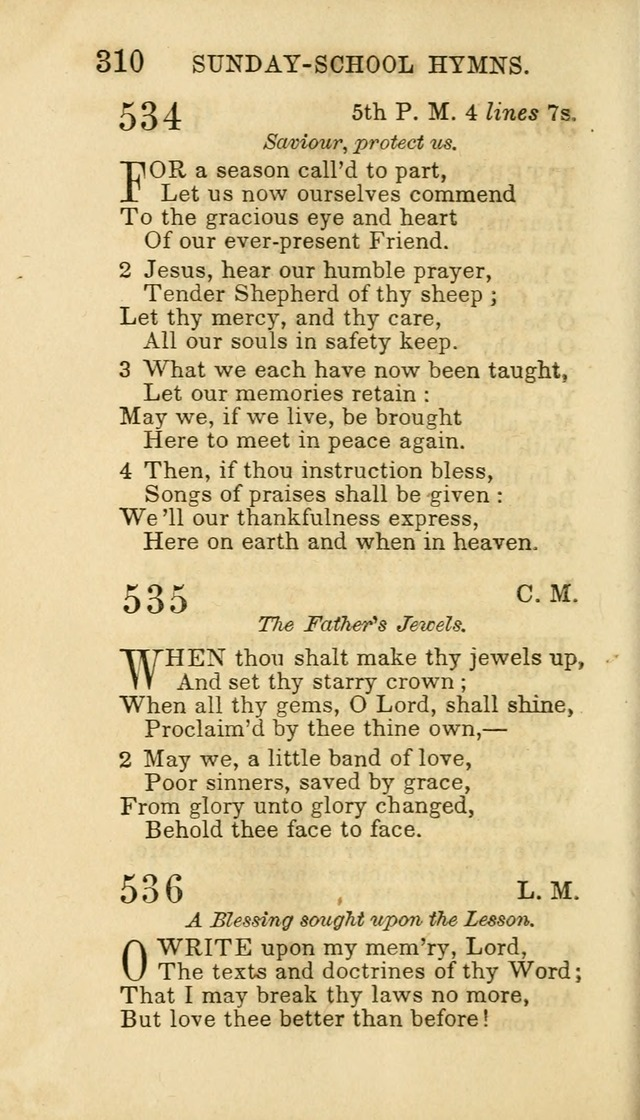 Hymns for Sunday Schools, Youth and Children page 316