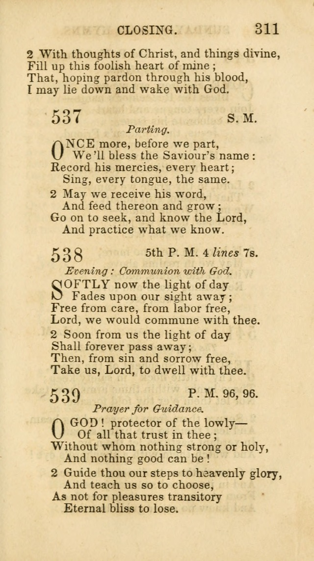 Hymns for Sunday Schools, Youth and Children page 317