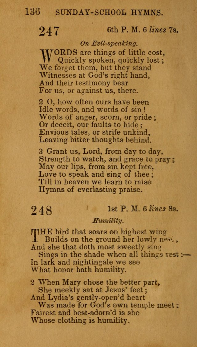 Hymns for Sunday Schools, Youth, and Children page 142