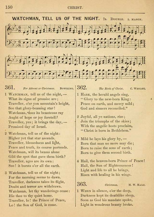 Hymn and Tune Book, for the Church and the Home page 191